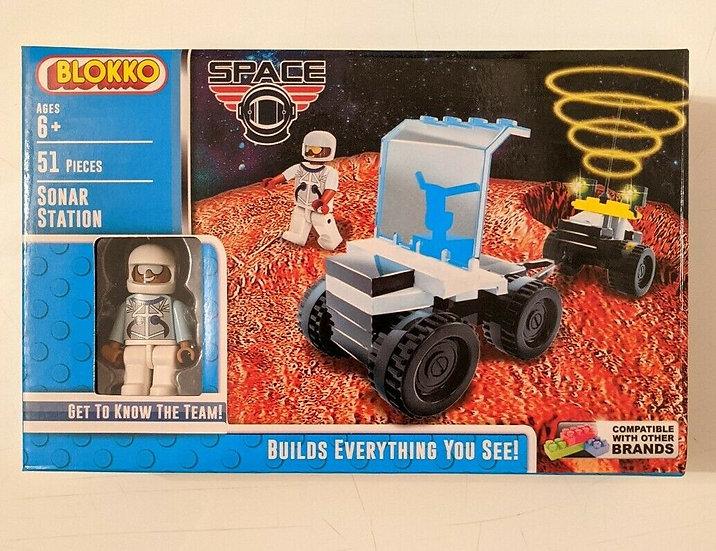 Blokko Kids Building Bricks Set 2 Kits - Space, Pirates