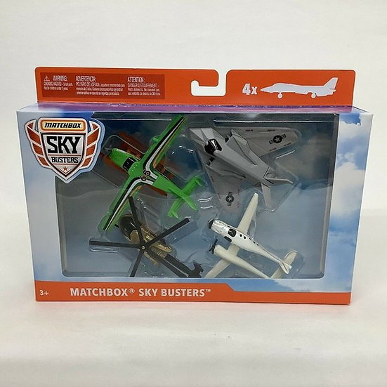 LOT of 2 Matchbox Sky Busters 4 Pack Diecast Airplanes