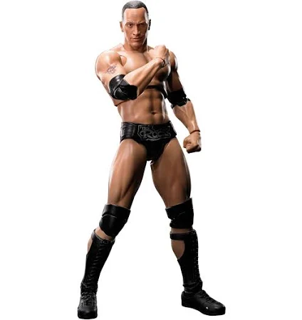 Wwe Wrestling S.h. Figuarts The Rock Figure