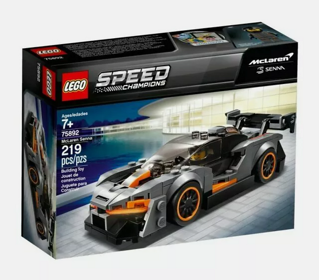 Lego 75892 McLaren Senna Speed Champions