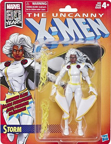 Hasbro Marvel Legends X-Men Target Exclusive Retro Carded Storm White Suit