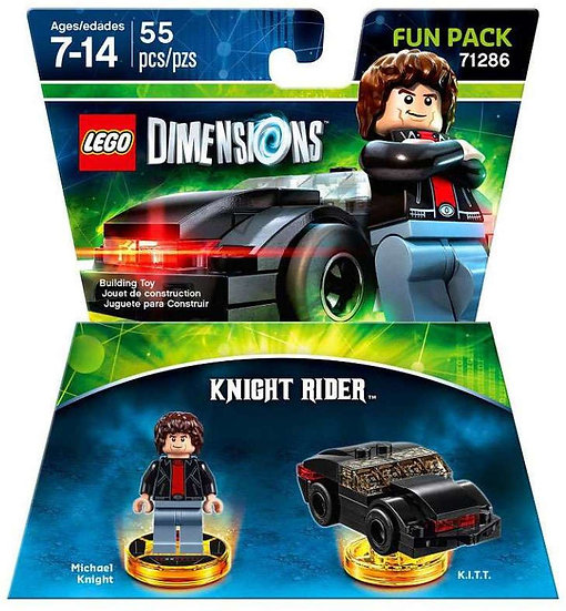 LEGO Dimensions - Knight Rider Fun Pack 71286