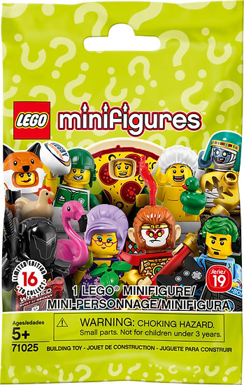 Lego Series 19 DOG SITTER Minifigure