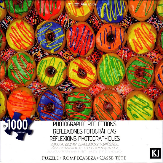 Photographic Reflections: Donuts 1000 Piece Puzzle