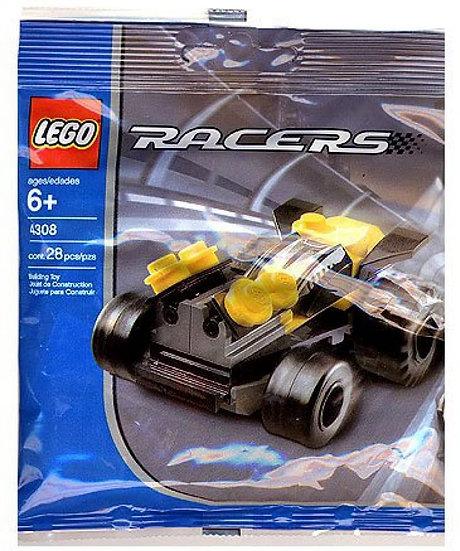 Lego Lot of 2 4308 Yellow Racer & 4309 Blue Racer - Retired