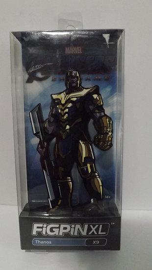 """FiGPiN XL Marvel Avengers Endgame Thanos 6"""" Enamel Pin #X9"""