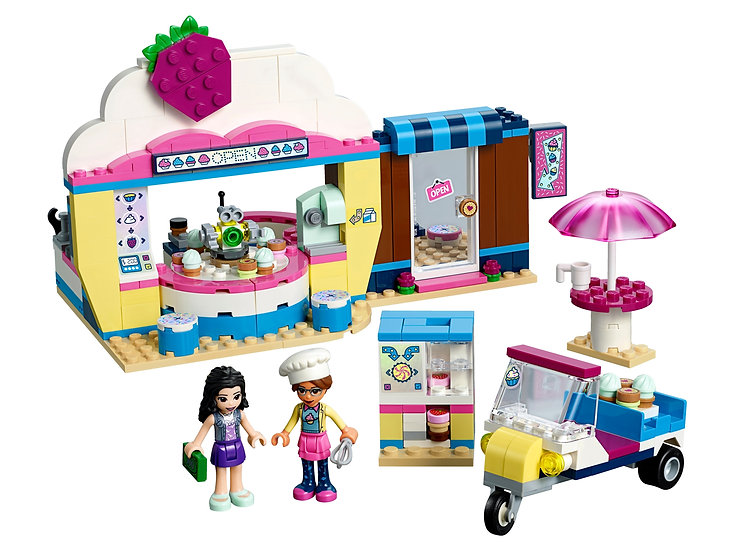 LEGO Friends Olivia's Cupcake Café 41366 Complete