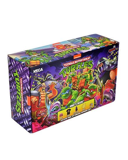 NECA TMNT Stern Pinball Crate Size XL Walmart Exclusive