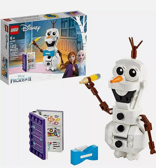 Lego Disney Frozen 2 OLAF Building Toy 122 Pcs 41169 , Ages 6+