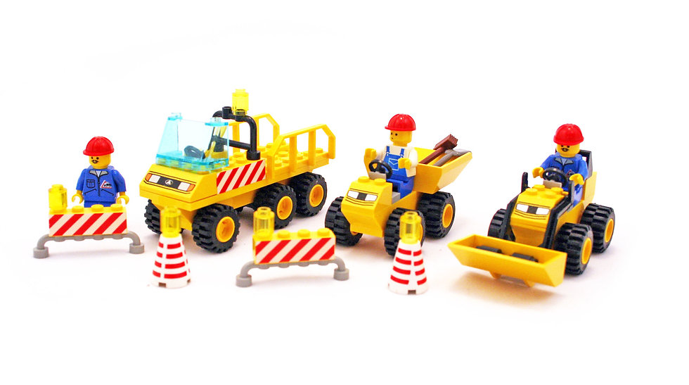 Lego System 6565 Construction Crew