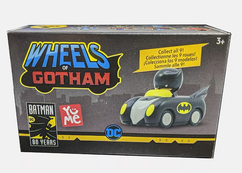 Toys Yume Wheels of Gotham 2019 Batman Blind Box Mini Figure Multiple