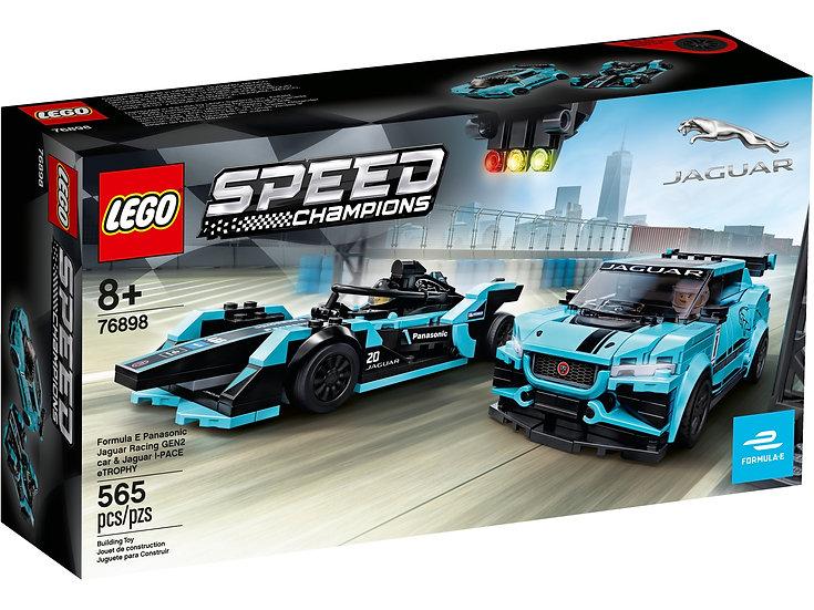 LEGO Formula E Panasonic Jaguar Racing GEN2 Speed Champions 76898
