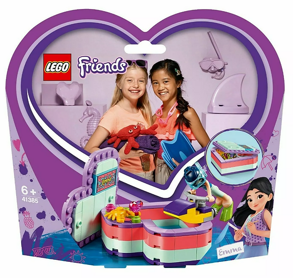LEGO® Friends - Emma's Summer Heart Box 41385