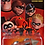 Thumbnail: Lot of 3 Jakks Incredibles 2 Underminer Tunneler, Incredibile car, & Police Car
