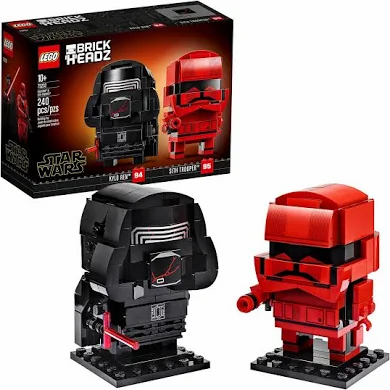 LEGO Star Wars Brick Headz Kylo Ren & Sith Trooper Exclusive Set #75232