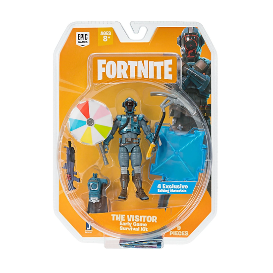 Fortnite Early Game Survival Kit The Visitor Action Figure Jazwares