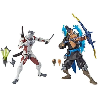 Overwatch Ultimates Hanzo & Genji Action Figure 2-Pack