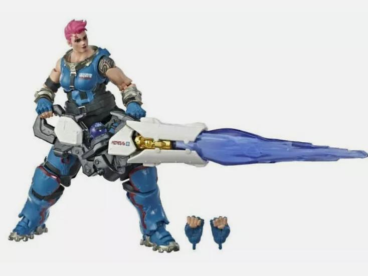 New: Hasbro Overwatch Ultimates Series - ZARYA - Collectible Action Figure