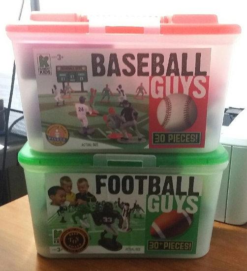 Kaskey Kids Football & Baseball Guys