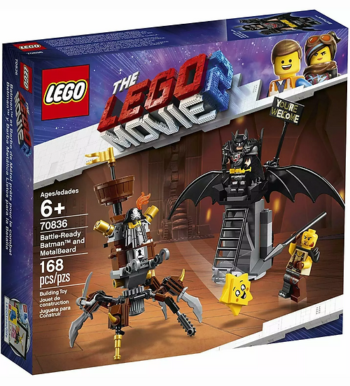 Lego 70836 Lego Movie 2 Battle Ready Batman and Metalbeard