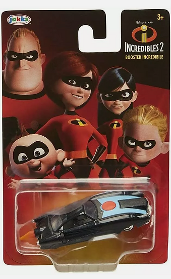 Lot of 3 Jakks Incredibles 2...Boosted Incredibile and 2 Incredibles 1:64