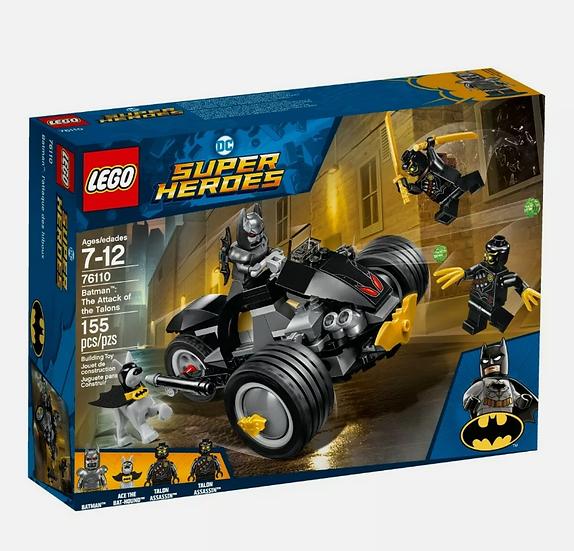 Lego 76110 DC Super Heroes Batman,The Attack of the Talons NIB
