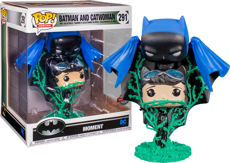 POP! Heroes: Batman and Catwoman Moment