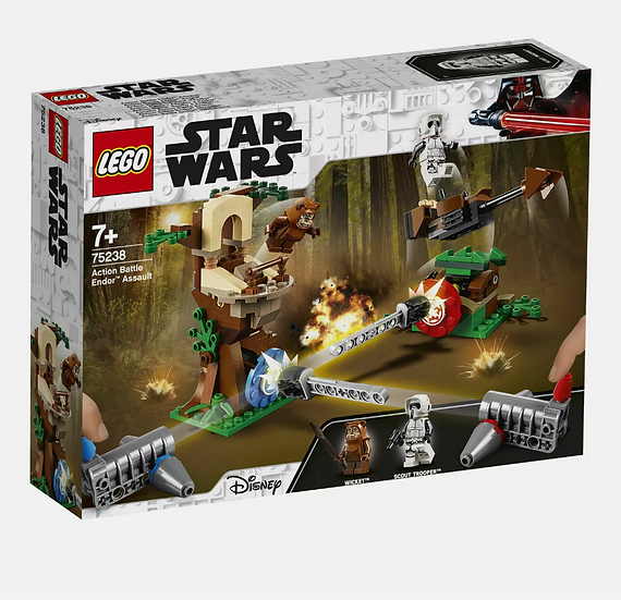 LEGO Star Wars Action Battle Endor Assault Set (75238)