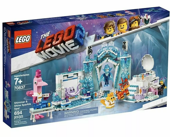 Lego Movie 2 Shimmer and Shine Sparkle Spa Lego 70837