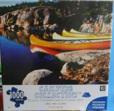KI Camping Collection 1000 Piece Jigsaw Puzzle