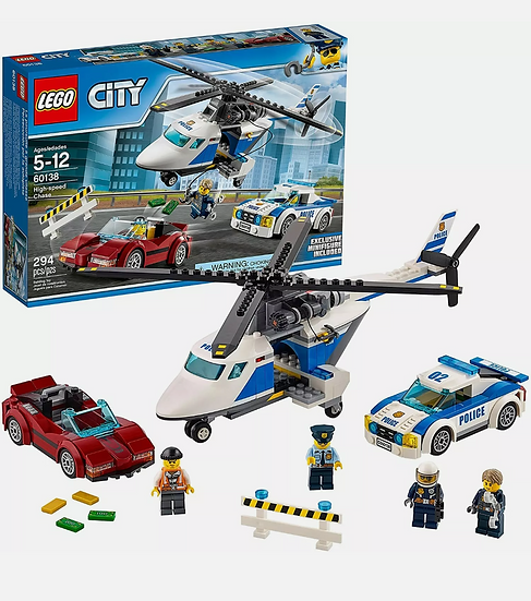 LEGO City Police: High-Speed Chase (60138) 2017 Set