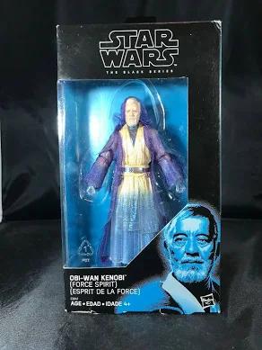 Black Series Obi Wan Kenobi Exclusive Action Figure [Force Spirit]