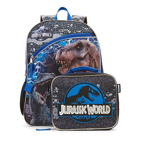 Jurassic World Backpack With Lunch Bag