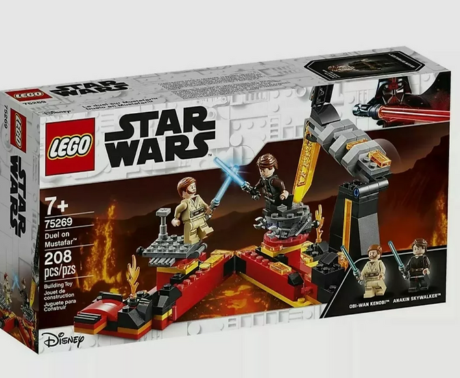 Lego Star Wars Duel on Mustafar (75269)