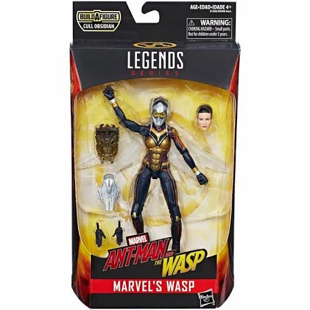 Ant-Man and the Wasp Marvel Legends Cull Obsidian Series Wasp Action Figure
