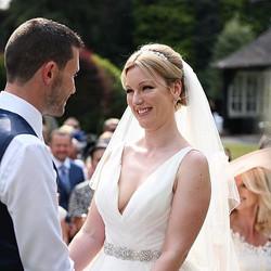 The happiest bride Faye 💞 #bridal #brid