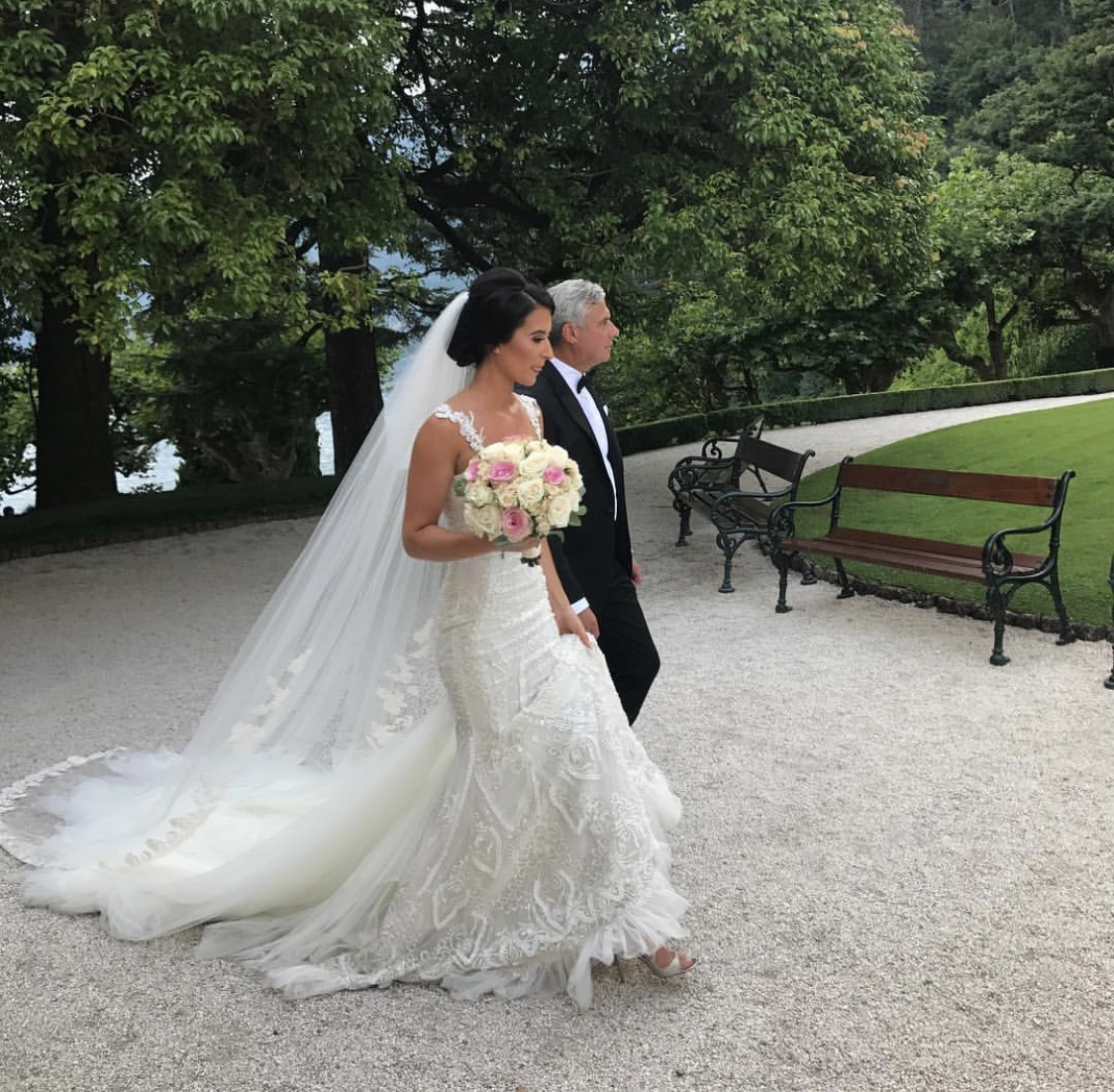 Bridal makeup - Lake Como Italy