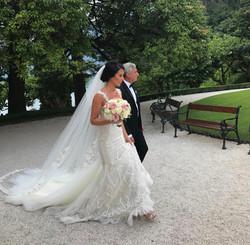 Bridal makeup - Lake Como Italy