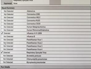 NUEVO: Panel de Infección Respiratoria