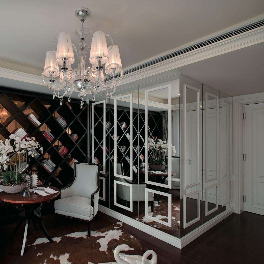 зеркальные двери гардеробной