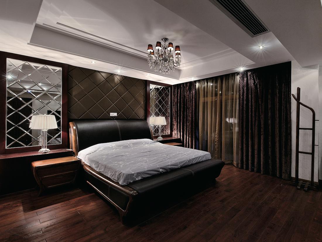 зеркальное панно на стену для спальни