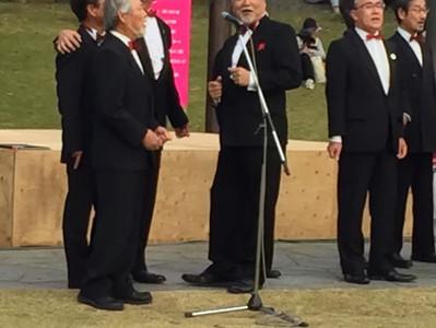 長崎ウーマンズ・ウォークラリー応援隊⑦〜長崎居留地男声合唱団編〜