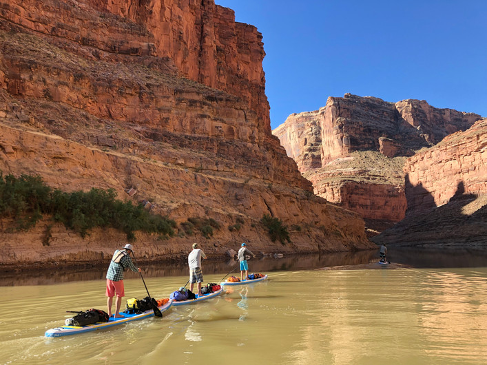 5 Friends, 5 Days, & 166.5 Miles - Green River To Hite