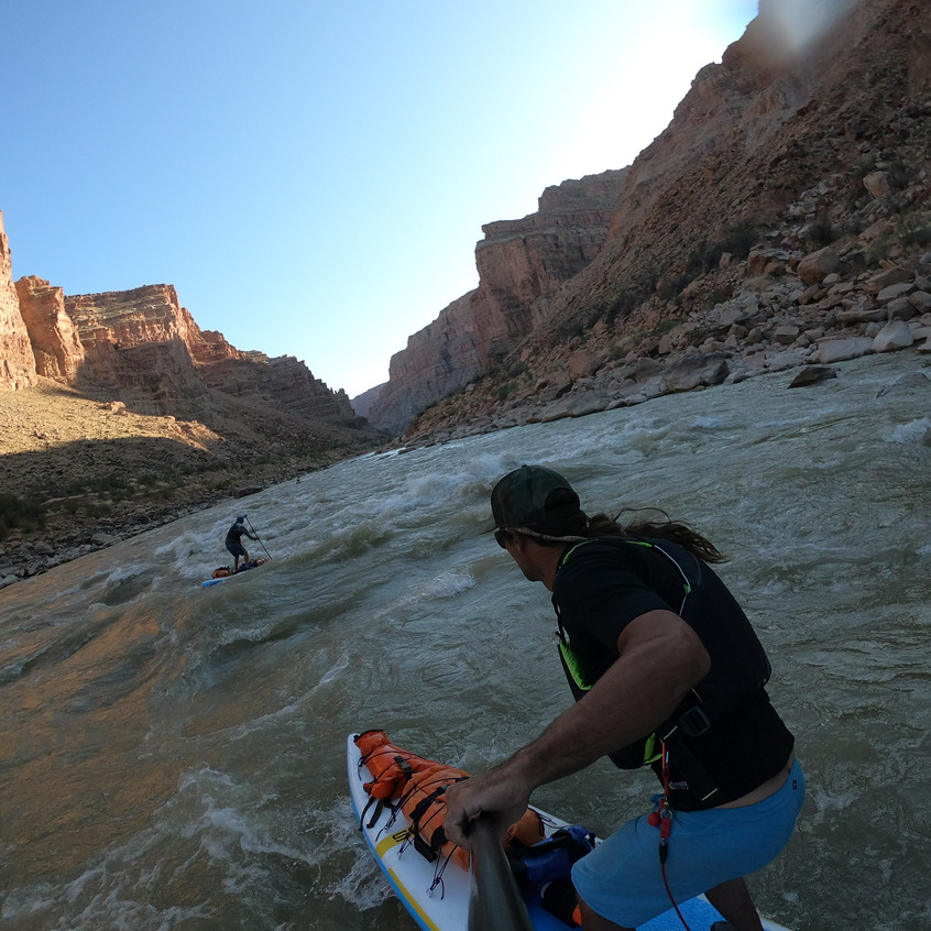 Colorado River Wavetrains
