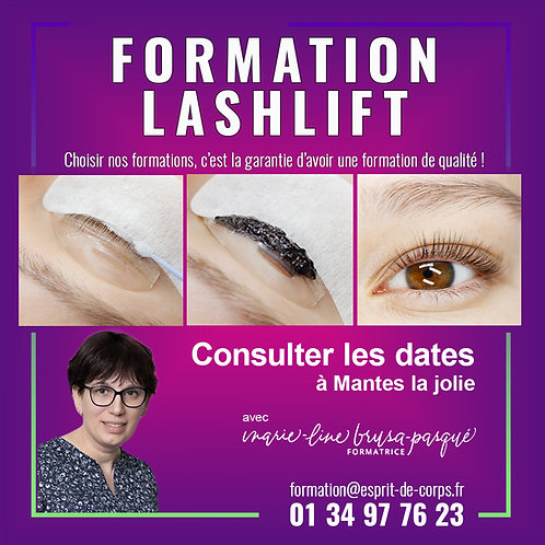 Formation Rehaussement / Lashlift / Lashbotox