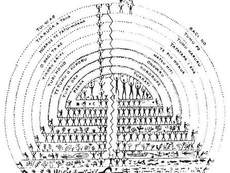 The Tuamotuan Creation Charts by Paiore
