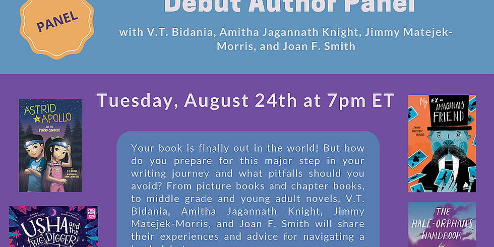Debut Author Panel with The Writers' Loft