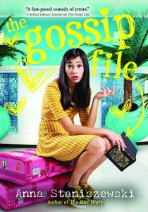Guest Post and Giveaway: The Gossip File by Anna Staniszewski