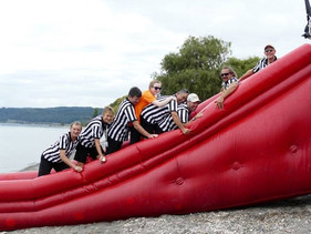 Team Wai Wakanui Water Slide