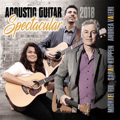 Acoustic Guitar Spectacular 2018 CD